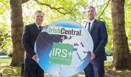 IRS+ team up with Irish Central