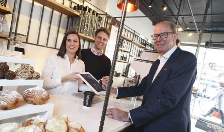 A cashless coffee store has opened its doors this week in Dublin's George's Street.